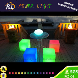 RGB Color Changing PE LED Cube Furniture pictures & photos