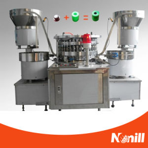 Fully Automatic Blood Collection Tube Rubber Stopper and Cap Assembling Machine