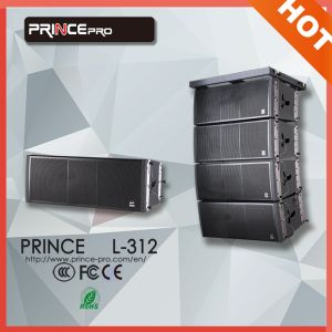 Dual 12 Inch 3-Way Line Array for Stadium Loudspeaker pictures & photos