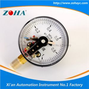 100mm Radial Electric Contact Pressure Gauges with Magnetic pictures & photos