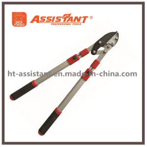 Compound Pruning Shears Telescopic Loppers with Anodized Aluminum Telescopic Handles