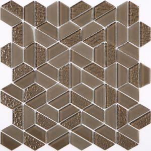 China Building Material Hexagon And Diamond Shape American Style - Diamond shaped tile flooring