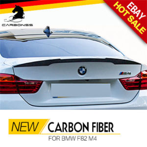 China Carbon Fiber Trunk Lip Rear Spoiler For Bmw F82 M4 2015