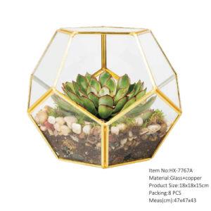 China Micro Landscape Decor Glass Globe Terrarium Ornaments Design