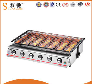 Hot Sale Commercial Outdoor Stainless Steel BBQ Gas Grill pictures & photos