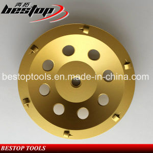 Bestop Hot Sales PCD Floor Grinding Cup Wheel pictures & photos