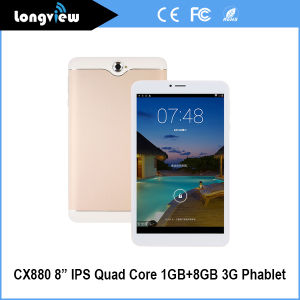 Cheap 8 Inch Smartphone 3G Android Mini Tablet PC with Dual SIM