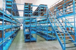 Multi-Level Mezzanine Floor Storage Rack pictures & photos