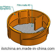 Ilot Customized Filter with 40# Stainless Steel Mesh pictures & photos
