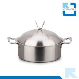 24cm Stainless Steel Soup Pot Stock Pot pictures & photos