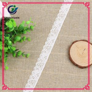 Cheap White Embroidery Trimming Lace Chemical Lace Embroidery Lace Designs pictures & photos