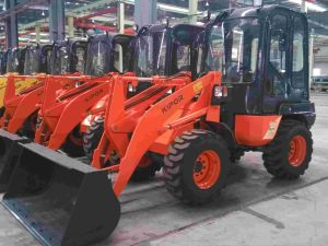Kipor Diesel Wheel Loader for Construction (KDD05) pictures & photos