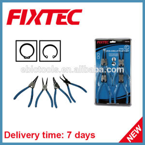 Fixtec Hand Tool Hardware 4PCS Circlip Plier Set CRV Professional Cutting Plier Kit pictures & photos