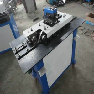 Galvanized Steel Pipe Material HVAC Duct Application Lock Forming Machine pictures & photos