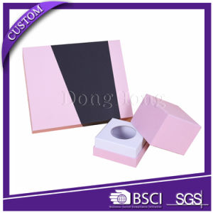 Simple Custom Design Texture Paper Candle Gift Packaging Box