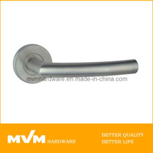 Stainless Steel Door Handle on Rose (S1129) pictures & photos