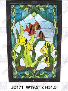 Stained Glass Panel (JC171)