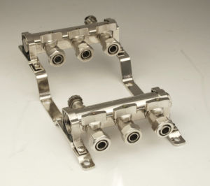 Brass Manifold for Floor Heating System Water Header pictures & photos