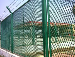 Expanded Mesh Fence Used for Protection (PVC)
