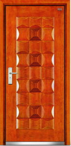 Steel Wooden Door (LT-302) pictures & photos