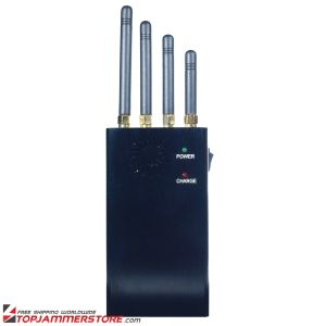 4 Bands Handheld WiFi Cellphone Jammer Portable Jamers