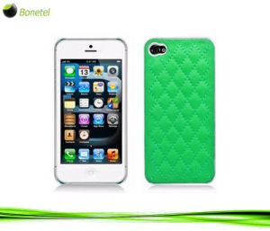 Fashion Inspired Luxury Quilted Mobile Phone Case for iPhone 5 (Green)