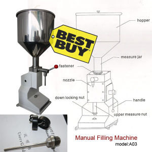 Manual Filling Machine 5-50ml (A03)