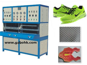 Kpu/PU Sport Shoes Cover Shaping Machine pictures & photos