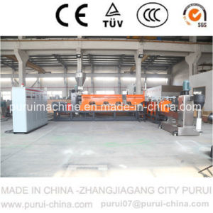 Plastic Single Screw Pelletizing Machine for HDPE Regrind Material Recycling pictures & photos