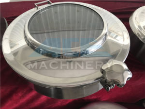Stainless Steel Sanitary Tank Round Manhole with Flange Sight Glass (ACE-RK-12) pictures & photos