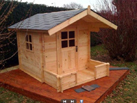 Wooden Playhouse (ST-WH9907)