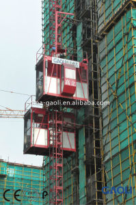 Frequency Electric Motor Construction Building Lifter/Hoist with Customizable pictures & photos