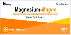 Magnesium Sulfate 50% Injection Human Medicine for pictures & photos