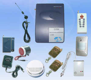 Popular Intelligent Wireless GSM Home Alarm System (BON-GSM01)