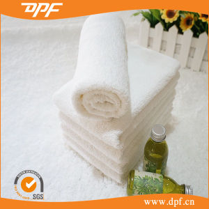 Factory Price White Color 100% Cotton Hotel Towel (DPF061102) pictures & photos