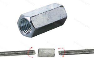 Hex Coupler for Building Construction