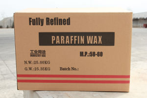 Fully Refined Paraffin Wax (M. P. 58-60) pictures & photos