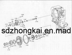 transmission parts (zf 4wg200, 4wg180)