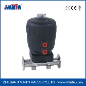 Sanitary grade air actuated stainless steel 316l diaphragm valve ccuart Gallery