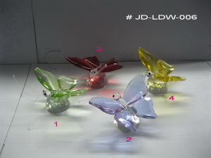 Crystal Glass Butterfly Gifts (JD-LDW-006) pictures & photos