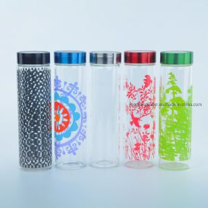 china 550ml glass drinking water bottle with custom decals china glass water bottle and glass bottle price yongkang jiabin industry trade co ltd