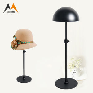 Good Quality Customized Elegant Metal Wall Mounted Hat Display Rack