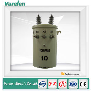 Single Phase Pole Mounted Oil Immersed Type 100 kVA Transformer