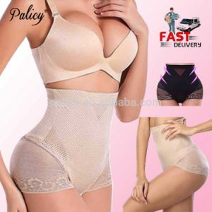 601e99a036b China Sexy Lace Slimmer Body Waist Shapers High Waist Women Tummy Control  Panties Waist Corset Bodysuit Girdle Underwear - China Body Shirts for Women