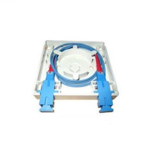 FTTH 2core Optical Fiber Wall Mount Outlet /Face Plate pictures & photos