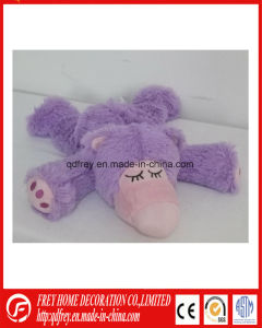 Bed Warmer Microwave Heated Plush Unicorn Toy for Baby pictures & photos