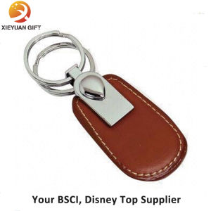 Factory Direct Sale Leather Keychain Wholesale for Business Gift pictures & photos