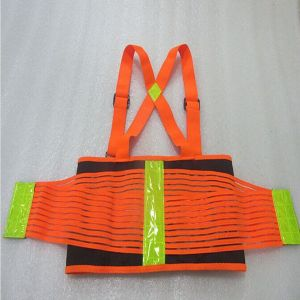 Reflective Safety Lifting Support Back Brace Belt