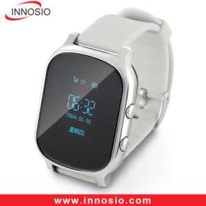 Personal Kids/Children/Elder GSM SIM Card Mobile Wrist Watch GPS Locator pictures & photos