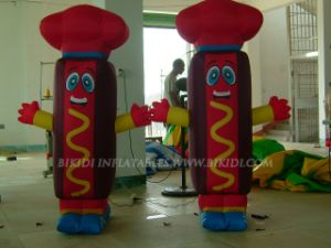 Hot Dog Balloon, Inflatable Sausage for Advertising K2004 pictures & photos